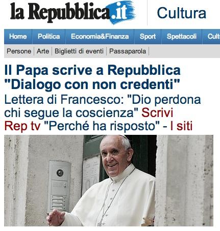 papa repubblica